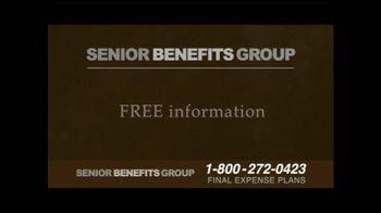Senior Benefits Group TV Spot, 'Final Expense Plans' - Thumbnail 8