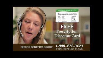 Senior Benefits Group TV Spot, 'Final Expense Plans' - Thumbnail 9
