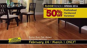 Lumber Liquidators TV Spot, 'Spring Flooring Deals' - Thumbnail 4
