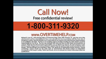 The Lore Law Firm TV Spot, 'Get the Money You Deserve' - Thumbnail 5