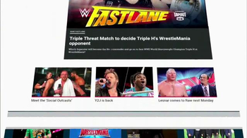 WWE.com TV Spot, 'Redesigned' - Thumbnail 1