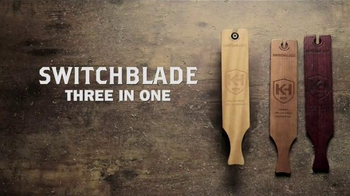 Knight & Hale Switchblade 3-In-1 Turkey Box Call TV Spot, 'Multiple Calls'