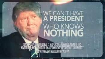 Conservative Solutions PAC TV Spot, 'Knows Nothing' - Thumbnail 9