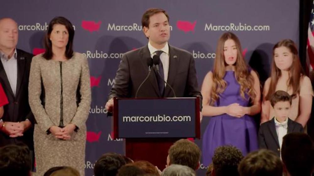 Marco Rubio for President TV Commercial, 'Revolution'