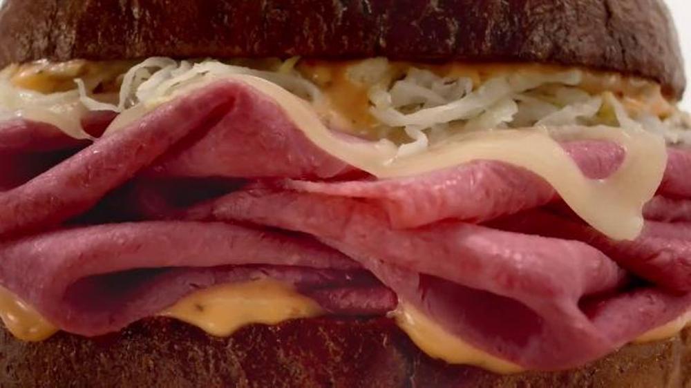 Arby's Reuben TV Commercial, 'Animal Vids'