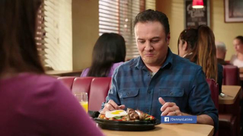 Denny's Mighty Meat Lover's Skillet TV Spot, 'A Man's Meal' [Spanish] - Thumbnail 1