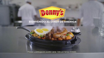 Denny's Mighty Meat Lover's Skillet TV Spot, 'A Man's Meal' [Spanish] - Thumbnail 10