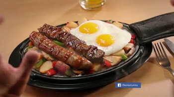 Denny's Mighty Meat Lover's Skillet TV Spot, 'A Man's Meal' [Spanish] - Thumbnail 2