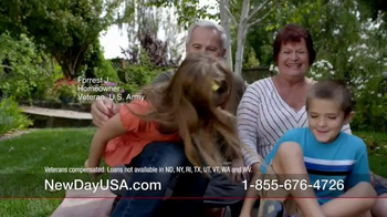 New Day USA New Day 100 Home Loan TV Spot, 'Veterans Homeowners' - Thumbnail 2