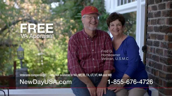 New Day USA New Day 100 Home Loan TV Spot, 'Veterans Homeowners' - Thumbnail 3