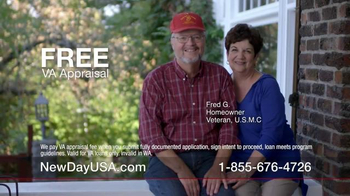 New Day USA New Day 100 Home Loan TV Spot, 'Veterans Homeowners' - Thumbnail 4