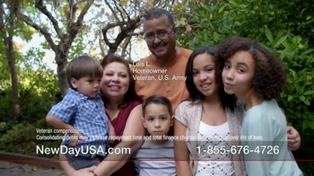 New Day USA New Day 100 Home Loan TV Spot, 'Veterans Homeowners' - Thumbnail 9