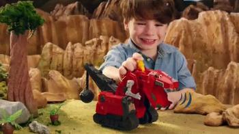 DreamWorks Dinotrux TV Spot, 'Half Dinosaur, Half Truck'