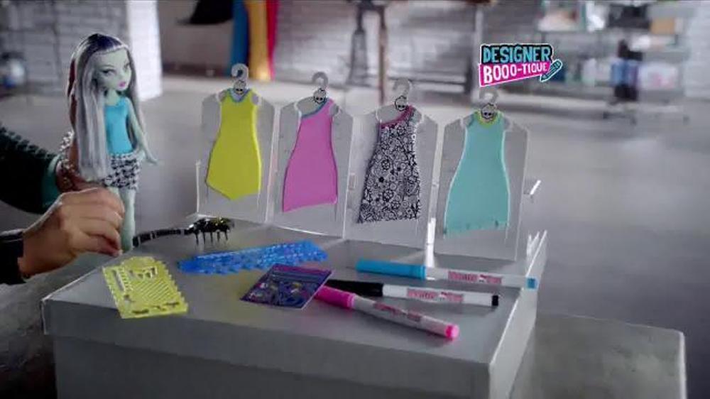 Monster High Designer Booo Tique Tv Commercial Dresses For Frankie Ispot Tv