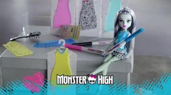 Monster High Designer Booo-Tique TV Spot, 'Dresses for Frankie' - Thumbnail 1