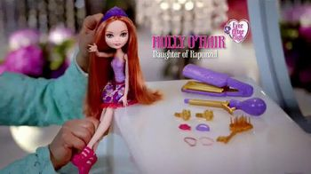 Ever After High Hair Styling Holly Doll TV Spot, 'Holly O'Hair' - 263 commercial airings
