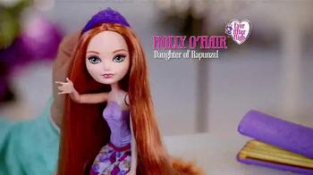 Ever After High Hair Styling Holly Doll TV Spot, 'Holly O'Hair' - Thumbnail 2