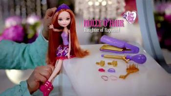 Ever After High Hair Styling Holly Doll TV Spot, 'Holly O'Hair' - Thumbnail 3