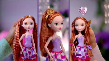 Ever After High Hair Styling Holly Doll TV Spot, 'Holly O'Hair' - Thumbnail 8