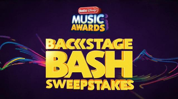 Radio Disney Music Awards Backstage Bash Sweepstakes TV Spot, 'VIP Status'
