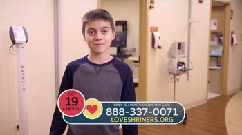 Shriners Hospitals for Children TV Spot, 'A Family's Legacy of Love' - Thumbnail 7
