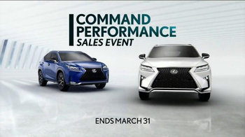 Lexus Command Performance Sales Event TV Spot, 'SUV' - Thumbnail 8