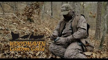 Woodhaven Custom Calls Cluck 'n Purr Pot TV Spot, 'Custom Turkey Call'