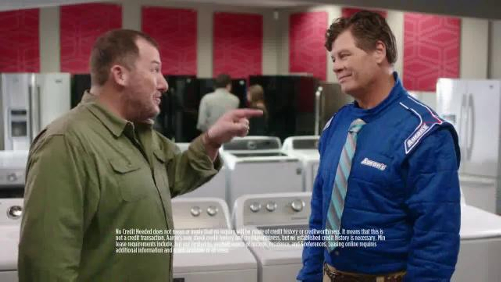 Aarons TV Commercial Race Talk Featuring Michael Waltrip