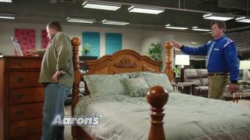 Aaron's TV Spot, 'Race Talk' Featuring Michael Waltrip - Thumbnail 1
