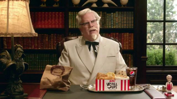 KFC $5 Fill Ups TV Spot, 'Colonel' Featuring Jim Gaffigan - Thumbnail 1