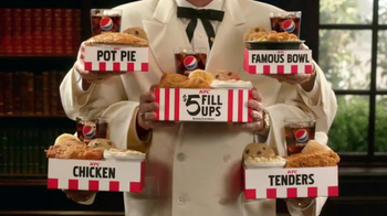 KFC $5 Fill Ups TV Spot, 'Colonel' Featuring Jim Gaffigan - Thumbnail 7