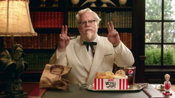 KFC $5 Fill Ups TV Spot, 'Colonel' Featuring Jim Gaffigan - 2254 commercial airings