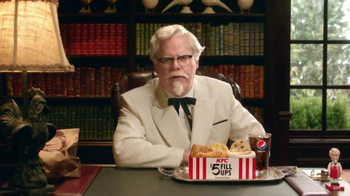 KFC $5 Fill Ups TV Spot, 'Colonel' Featuring Jim Gaffigan - Thumbnail 3