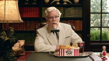 KFC $5 Fill Ups TV Spot, 'Colonel' Featuring Jim Gaffigan - Thumbnail 5