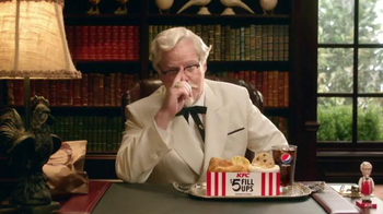 KFC $5 Fill Ups TV Spot, 'Colonel' Featuring Jim Gaffigan - Thumbnail 6