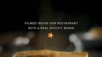 Carl's Jr. Hillshire Farm Smoked Sausage Biscuit TV Spot, 'Golden Brown' - Thumbnail 1
