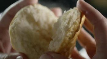 Carl's Jr. Hillshire Farm Smoked Sausage Biscuit TV Spot, 'Golden Brown' - Thumbnail 4