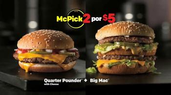 McDonald's McPick 2 TV Spot, 'Dame dos clásicos' [Spanish] - Thumbnail 4