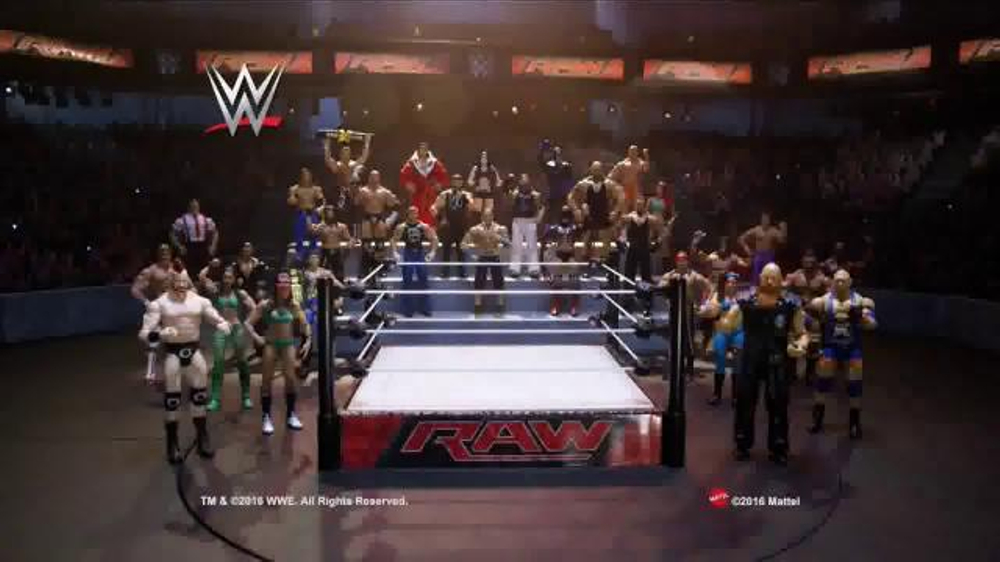 WWE Raw Superstar Ring TV Commercial, 'Recreate Your Favorite Matches' - iSpot.tv