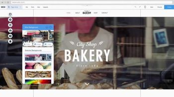 Wix.com TV Spot, 'City Shop Bakery'