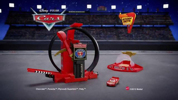 Disney Pixar Cars Lightspeed Loopin' Launcher TV Spot, 'Loop and Launch' - Thumbnail 9