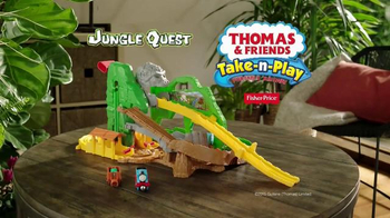 Thomas & Friends Take-N-Play Jungle Quest TV Spot, 'Explore' - Thumbnail 8