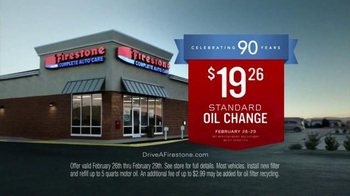 Firestone Complete Auto Care TV Spot, 'Celebrating 90 Years' - Thumbnail 6