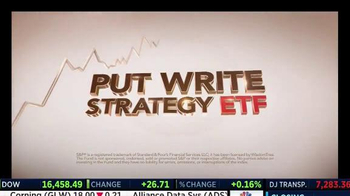 WisdomTree TV Spot, 'CBOE S&P 500 PutWrite Strategy Fund' - Thumbnail 3