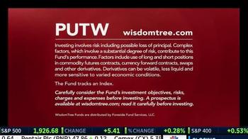 WisdomTree TV Spot, 'CBOE S&P 500 PutWrite Strategy Fund' - Thumbnail 6