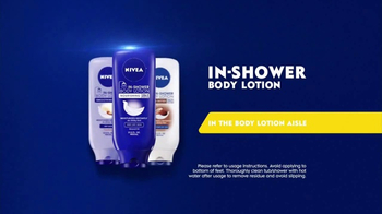 Nivea In-Shower Body Lotion  TV Spot, 'Fast Absorbing Moisturizer' - Thumbnail 8
