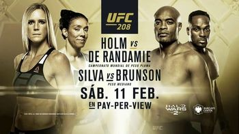 Pay-Per-View TV Spot, 'UFC 208: Holm vs. De Randamie' [Spanish] - 43 commercial airings