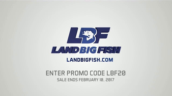 LandBigFish.com TV Spot, 'Biggest Online Tackle Shop' - Thumbnail 4