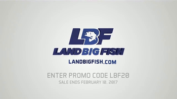 LandBigFish.com TV Spot, 'Biggest Online Tackle Shop' - Thumbnail 3