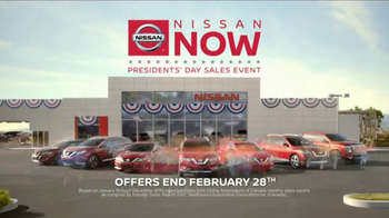 Nissan Now Presidents Day Sales Event TV Spot, '2017 Safety Picks' [T2] - Thumbnail 8